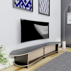 tv lowboard | Newa | Multimedia sideboards | form.bar