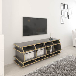 tv rack | Cosa | Multimedia sideboards | form.bar