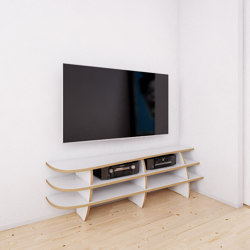 tv rack | Eckrack | Multimedia sideboards | form.bar