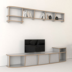 tv wall | Evi | Multimedia sideboards | form.bar