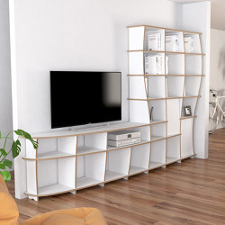 tv wall | Kelinda | Shelving | form.bar