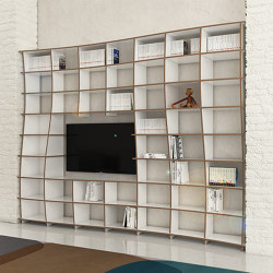 tv wall | Manni | Scaffali | form.bar