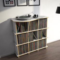 vinyl record shelf | Conco | Shelving | form.bar
