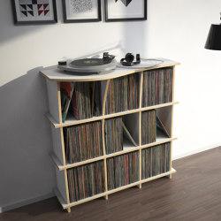 vinyl record shelf | Conco | Estantería | form.bar