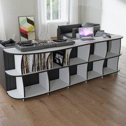 vinyl record shelf | Erika | Estantería | form.bar