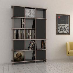 vinyl record shelf | Jimmy | Shelving | form.bar