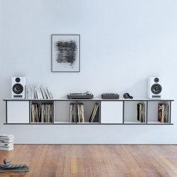 vinyl record shelf | Vinylos | Shelving | form.bar