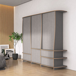 wardrobe | Okina | Cabinets | form.bar