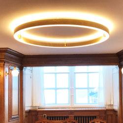 Folketingssalen LED chandelier | Plafonniers | Okholm Lighting