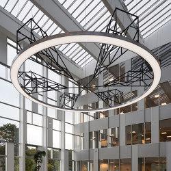 MT Højgaard LED chandelier | Suspended lights | Okholm Lighting
