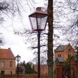 SORØ ACADEMY pole | Outdoor floor-mounted lights | Okholm Lighting