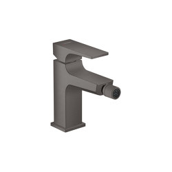 hansgrohe Metropol Single lever bidet mixer with lever handle and push-open waste set | Bidet taps | Hansgrohe