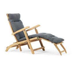 Cruise deck chair with Mattress | Tumbonas | Ethimo