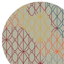 Summer Light Circular | Rugs | MEMEDESIGN