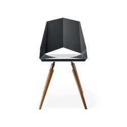 Kite Chair 4-Leg Woodbase | Chairs | OXIT design