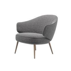 Charlotte Lounge Chair 1490 | Armchairs | BoConcept