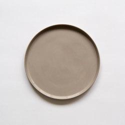 Stoneware | Plate | 260 | gray | Dinnerware | Moheim