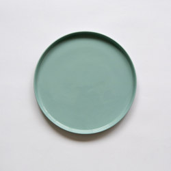 Stoneware | Plate | 260 | light blue | Dinnerware | Moheim