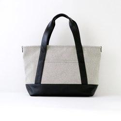 Tote Bag | M | gray chambray | Bags | Moheim