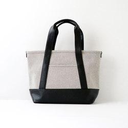 Tote Bag | S | gray chambray | Bags | Moheim