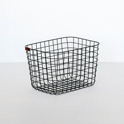 Wire Basket | M | black | Storage boxes | Moheim