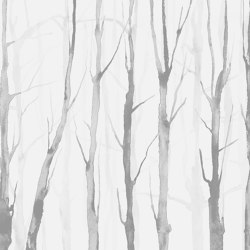 Alberi Zen Light Grey | Wall art / Murals | TECNOGRAFICA