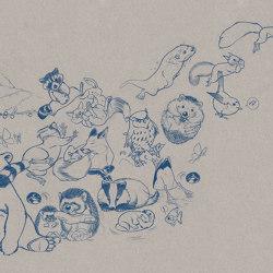 Jump Paper Blue | Wall art / Murals | TECNOGRAFICA