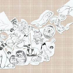 Jump Paper Tartan | Wall art / Murals | TECNOGRAFICA