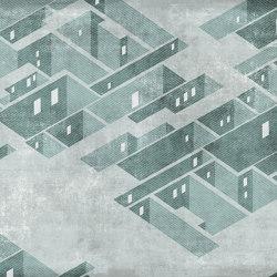 Metropolis Mint | Wall art / Murals | TECNOGRAFICA