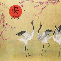 Mon Cherry Blossom Gold   Wall art / Murals   TECNOGRAFICA