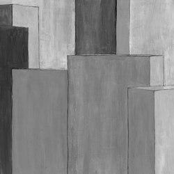 Prisma Gouache Grey | Peintures murales / art | TECNOGRAFICA