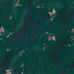 Tropical Foliage Emerald | Wall art / Murals | TECNOGRAFICA