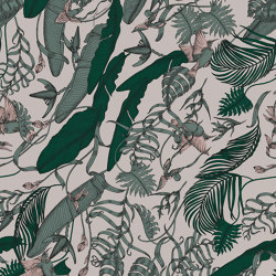 Tropical Foliage Jade | Wall art / Murals | TECNOGRAFICA