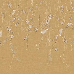 Waxwing Mustard | Wall art / Murals | TECNOGRAFICA