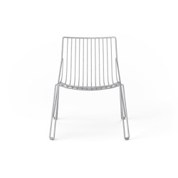 Tio Easy Chair Galvanised | Armchairs | Massproductions