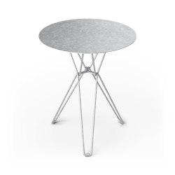 Tio Dining Table D60 - Galvanised | Dining tables | Massproductions