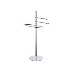 Floor standing column with 3 towel holders | Towel rails | COLOMBO DESIGN