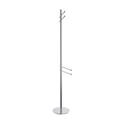 Floor standing column with 2 towel holder and 2 hooks | Towel rails | COLOMBO DESIGN