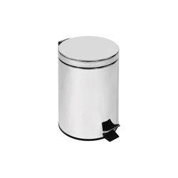 Small pedal bin, stainless steel (L 5) | Bath waste bins | COLOMBO DESIGN