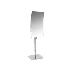 Standing magnifying mirror (3 times), adjustable in height | Bath mirrors | COLOMBO DESIGN