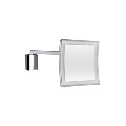 ANNA dimmable wall magnifying mirror with LED (3,5 times) | Bath mirrors | COLOMBO DESIGN