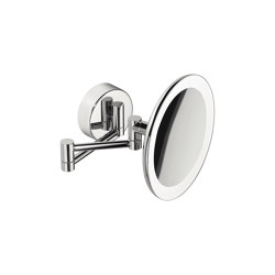 Wall magnifying mirror (3 times) complete with LED (220V) built-in light | Espejos de baño | COLOMBO DESIGN