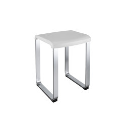 FLAT Seat. Seat: thermoplastic resin. Frame: anodized aluminium | Stools | COLOMBO DESIGN