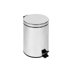 Small pedal bin, stainless steel (L 5) | Papeleras | COLOMBO DESIGN