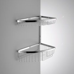 Double corner basket | Sponge baskets | COLOMBO DESIGN