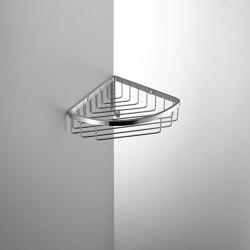 Single corner basket with hook | Sponge baskets | COLOMBO DESIGN