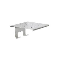 Shelf with hook for glass wiper B9636-B9643 | Sponge baskets | COLOMBO DESIGN