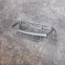 Removable single corner basket for shower | Sponge baskets | COLOMBO DESIGN