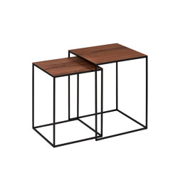 Sayo table set of 2 | Tables gigognes | Lambert