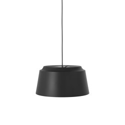 Groove Small Black   Suspended lights   PUIK